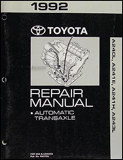 free service manuals online 1992 toyota mr2 electronic toll collection 1992 toyota celica corolla mr2 automatic transmission