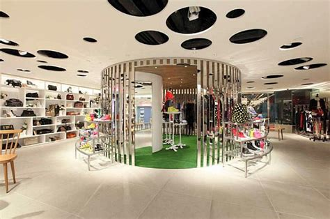 Department store design in Hong Kong by Wonderwall