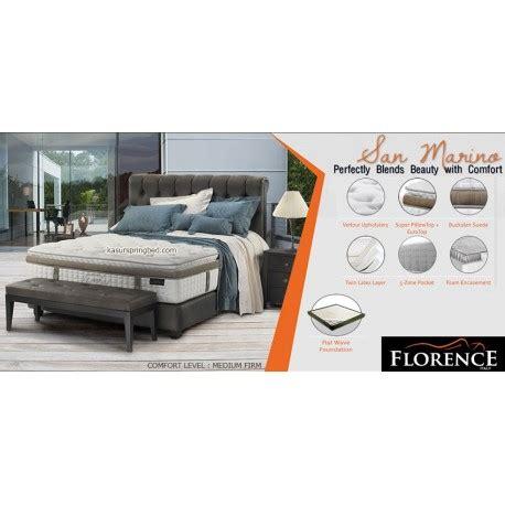 Florence San 180x200 Set Springbed florence san marino bed