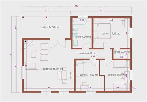 progetto casa 90 mq progetti di in legno casa 102 mq portico 15 mq