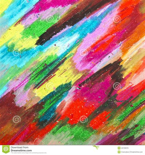 background design using oil pastel oil pastels background stock photo image 45720070