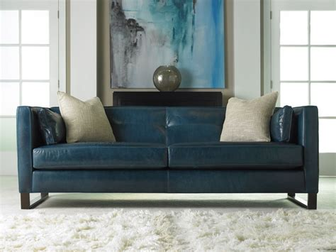 green leather chair living room furniture chic classic cyan leather sleeper sofa with