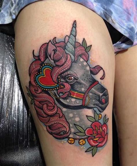 imagenes de unicornios para tatuajes tatuajes de unicornios