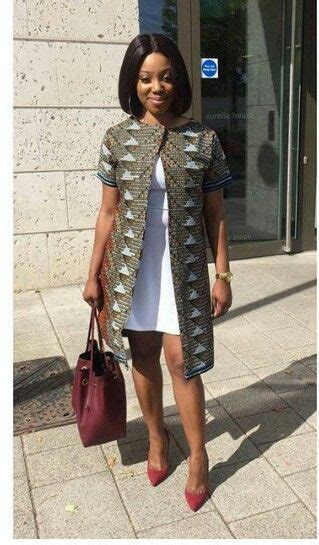 ankara weavon style ankara jacket waks pinterest mode africaine pagne