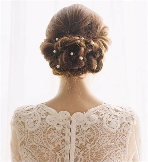 pearl hair style pics 25 best hairstyles for brides styles weekly