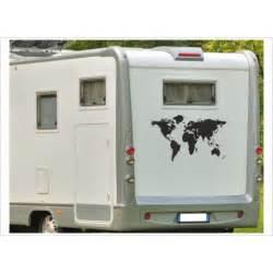 Folien Aufkleber Wohnwagen by Aufkleber Wohnmobil Wohnwagen Dekor Weltkarte 15 Der