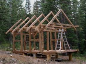 Timber Frame Cabin Plans by Small Timber Frame Cabin Plans Post And Beam Cabins