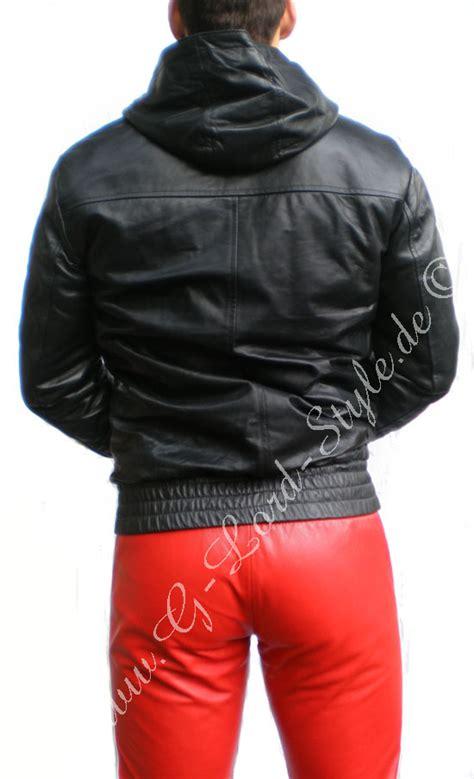 Jaket Mach Original 2 leder trainingsjacke lederjacke hoodie cuir blouson