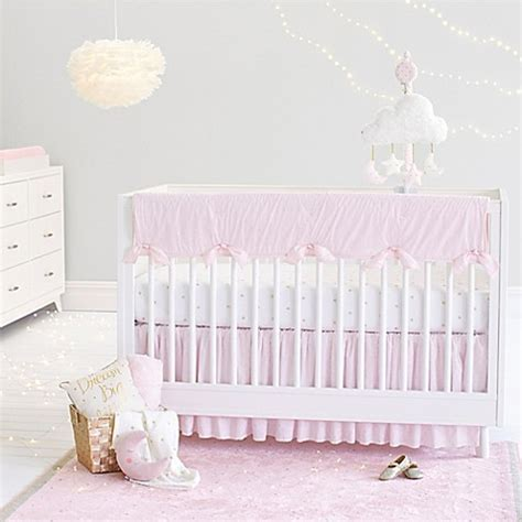 Just Born Crib Bedding Just Born 174 Sparkle Crib Bedding Collection In Pink Bed Bath Beyond