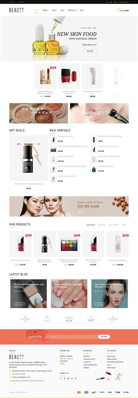 themeforest organica the 25 best cosmetic shop ideas on pinterest cosmetic