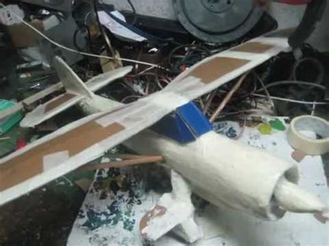 How To Make A Model Airplane Out Of Paper - how to built cardboard plane