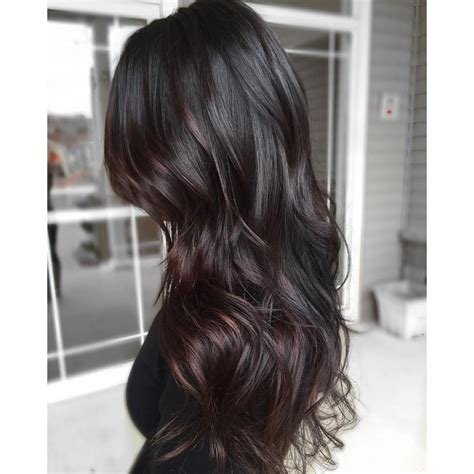 ombre hairstyles for long dark hair hairstyles easy 33 stunning hairstyles for black hair 2018 black ombre