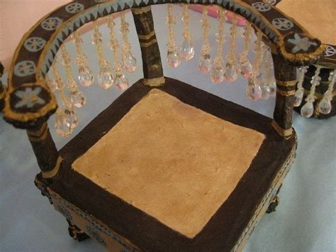How To Make Paper Mache Furniture - paper mache mini furniture 183 a of doll furniture