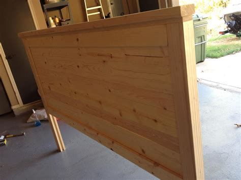 build a headboard download make wood headboard plans free