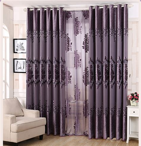 luxury purple curtains high end curtains window drapes custom curtains sale