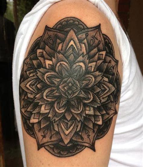 black mandala tattoo by jeff johnson tattoos