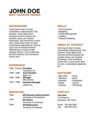 resume template apple cv exles pdf search for volunteer cv