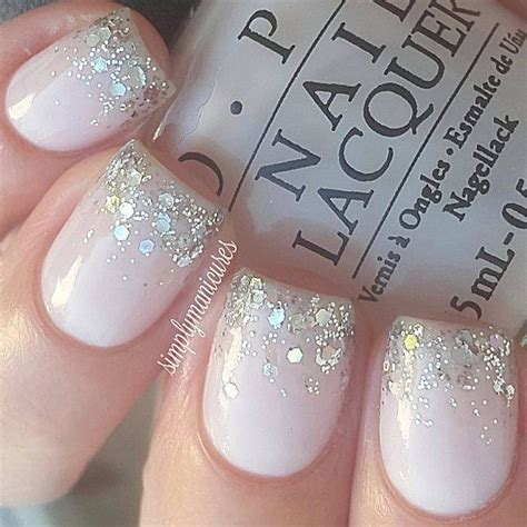 25  best ideas about Wedding day nails on Pinterest