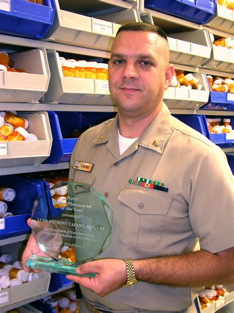 Navy Pharmacist by File Us Navy 031031 N 3902d 002 Lt Cmdr Anthony Capano