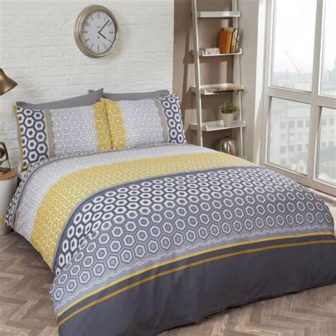 Yellow Bedding Sets Uk Barbican Yellow Duvet Cover Set Tonys Textiles