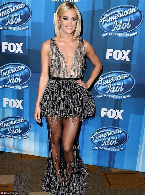 Thursday Three Bridget Meet Carrie by Carrie Underwood Returns To American Idol Joining Keith