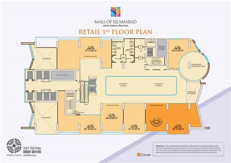 Floor Plan For Office Building bahria town launches mall of islamabad zameen blog
