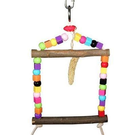budgie swings budgie swing toy safe bird cage toy for small and extra