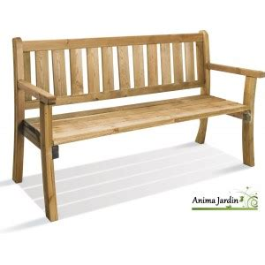 banc en bois avec dossier banc en bois avec dossier 150 cm philadelphia achat vente