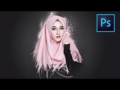 tutorial smudge brush painting photoshop tutorial smudge painting and dispersion effect