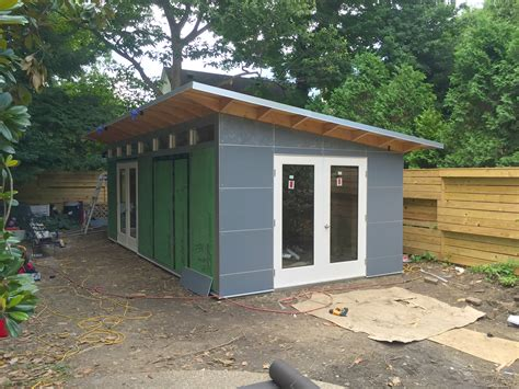 studio shed  installers view