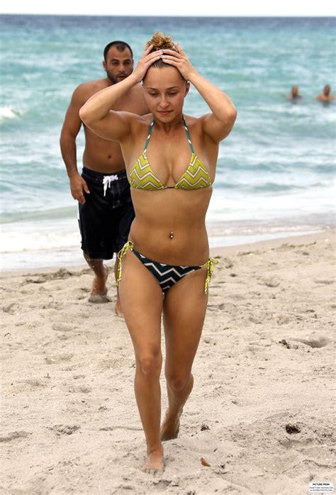 the fappining nudes hayden panettiere bikini candids in miani beach