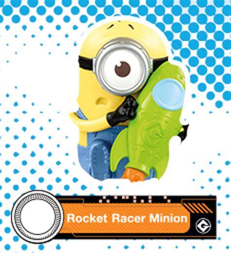 Minion Rocket Racer 2017 mcdonald s illumination despicable me 3 rocket racer minion