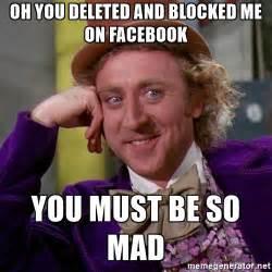 Blocked Meme - you blocked me on facebook meme