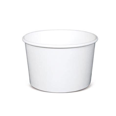 Paper Bowl 16oz 510ml paper tub bowl 473ml wht 500 ctn 16oz polycoated 3430146