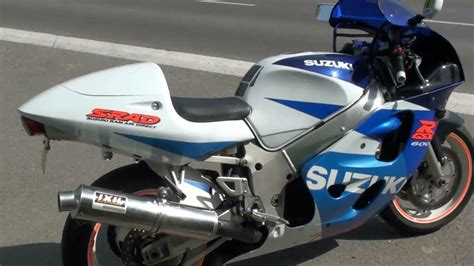 98 Suzuki Gsxr 600 ᴴᴰ Suzuki 600cc Gsx R Srad De 1998 110hp 174kg