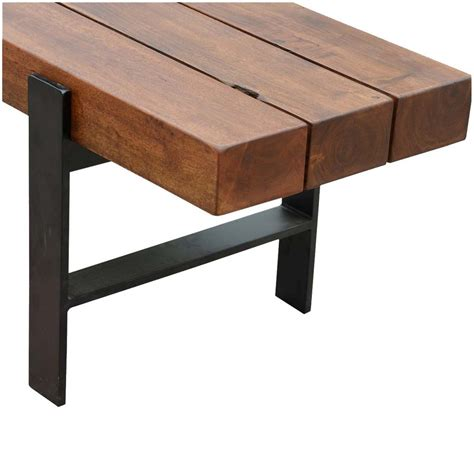 work bench base bench base rustic industrial beam block iron base solid