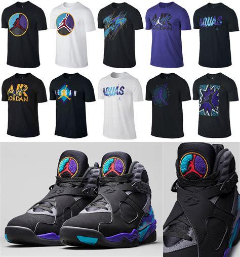T Shirt Shoes Cloth air 8 retro aqua t shirts sneakerfits