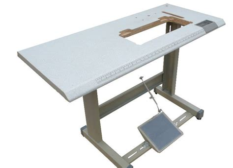 Table For Sewing Machine by Industrial Sewing Machine Table And Stand With Foot Pedal