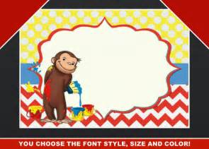 curious george birthday invitation template chandeliers pendant lights