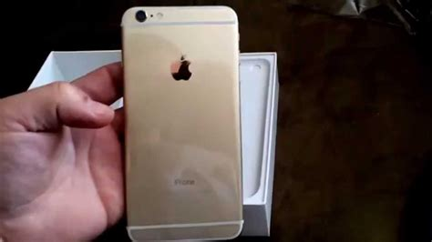 Iphone 6 64gb Gold 3482 by Unboxing Of Iphone 6 Plus 64gb Gold At T