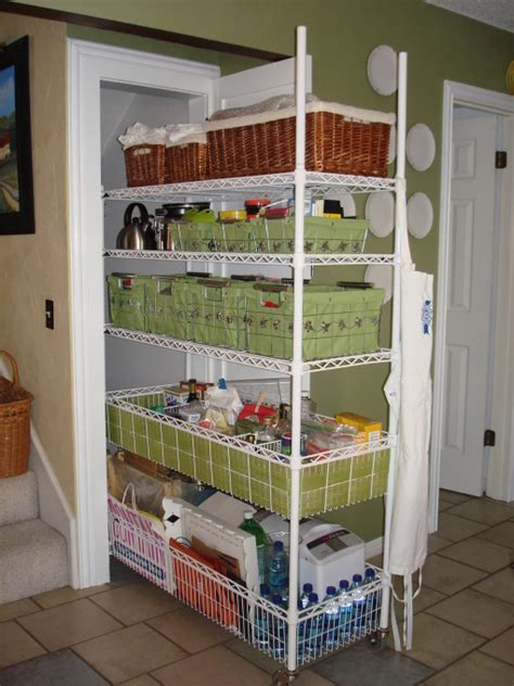 Rolling Shelves For Pantry by Rolling Pantry This Was An Closet The Stairs That Was Difficult To Use Its 4