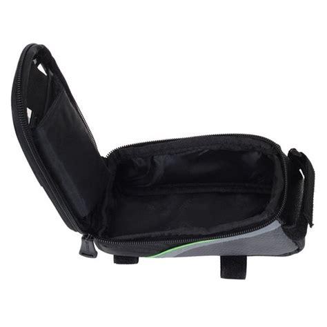 Roswheel Tas Sepeda Waterproof Untuk 4 8 Inch Smartphone Black roswheel bike waterproof bag for 5 5 inch smartphone
