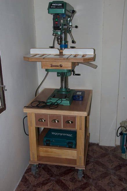bench drill press stand drill press stand by mark gipson lumberjocks com woodworking community