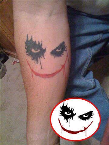 simple joker tattoo simple joker tattoo