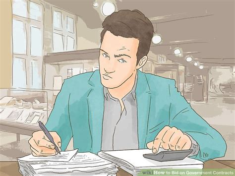 bid on government contracts how to bid on government contracts 13 steps with pictures