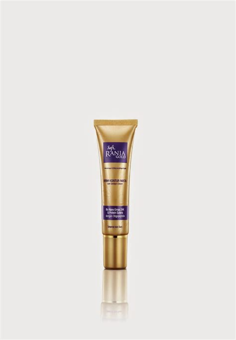 Krim Kontur Mata Safi Rania Gold what every gal want safi rania gold range of products