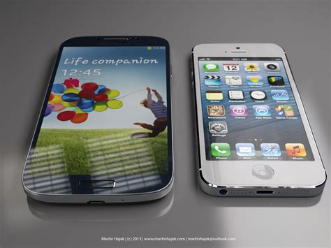 i samsung galaxy s4 precise renderings depict just how bulkier galaxy s4 is versus iphone 5