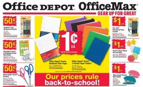 office depot back to school deals starts 8 9