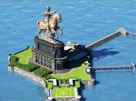 lowest bid lowest bid for phase i of shivaji statue more than cost of