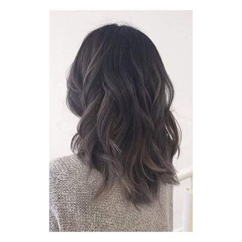 black grey hair 25 best ideas about dark grey hair on pinterest dark